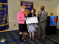 CAC Executive Director Tamara Carrera Receives $500 from Rotary Club of Sandy Springs