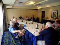 Official Board Meeting w/ DG Blake McBurney Rotary Club of Sandy Springs 7-22-2013