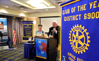 Fran Farias Receives Rotarian of the Year Award from Rotary Club of Sandy Springs