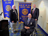 6-9-2014 Outgoing District 6900 District Governor Blake McBurney Visits Rotary Club of Sandy Springs