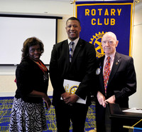 Ed Steele Inducted into the Rotary Club of Sandy Springs