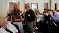 6-2-14 Milton Kassel and Ralph Thurmond Receive Perfect Attendance Pins Rotary Club of Sandy Springs